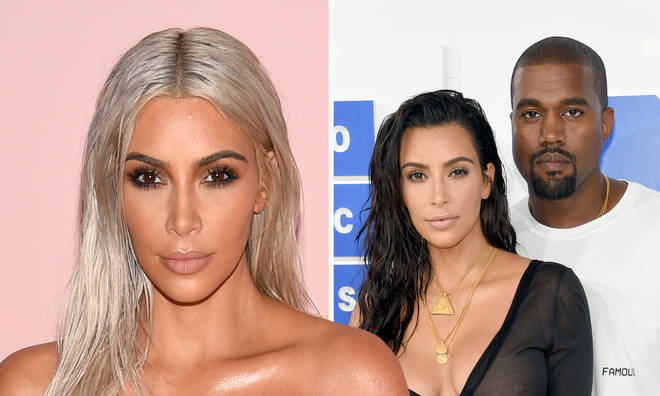 "Kim Kardashian has divorce from Kanye West ""planned out"", report claims."