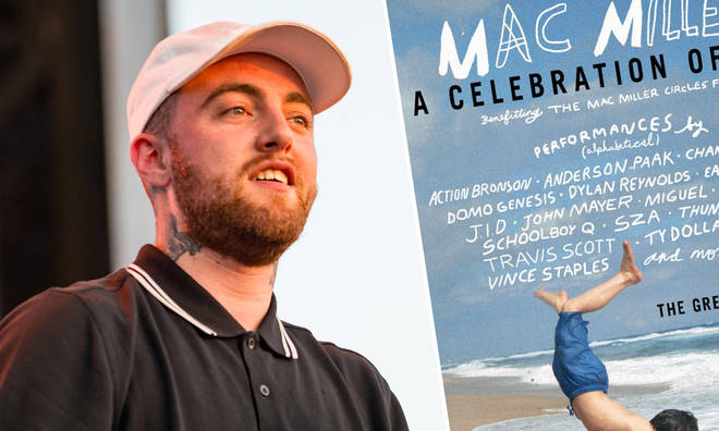 Mac Miller's life will be celebrated at a beneficiary concert in Los Angeles.