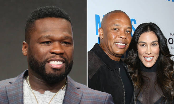50 Cent trolls Dr. Dre's estranged wife amid bitter divorce.