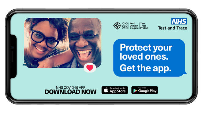 Use the NHS COVID-19 app to keep each other safe and protect the ones you love.