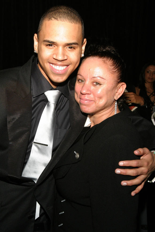 Chris Brown has a close relationship with his mother, Joyce Hawkins.