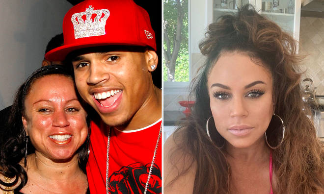 Chris Brown's mother shocks fans with stunning selfie.