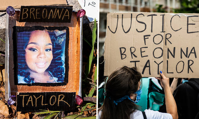 Breonna Taylor police officers not charged over her death, grand jury rules