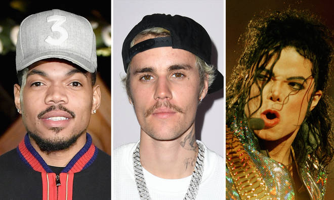 Chance The Rapper criticised for comparing Justin Bieber to Michael Jackson.