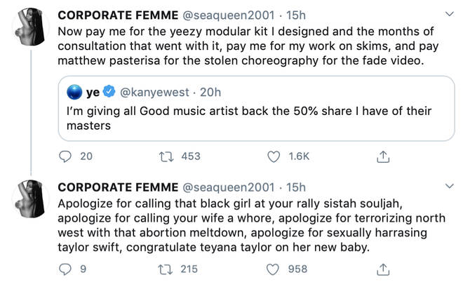 Azealia Banks urges Kanye West to apologise to his wife and daughter for his recent abortion exposé