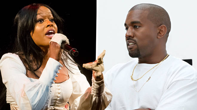 Azealia Banks urges Kanye West to apologise to Kim Kardashian & daughter North