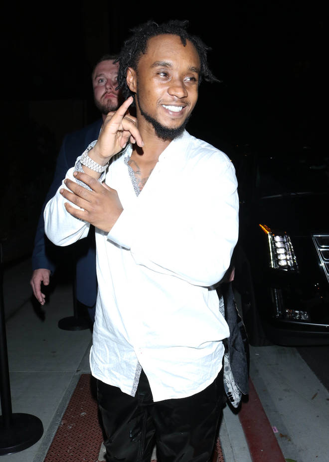 """Slim Jxmmi allegedly """"punched his ex-girlfriend in the mouth""""."""