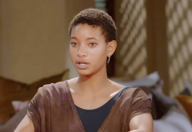 Willow Smith praised her mother's honesty on a new episode of Red Table Talk.