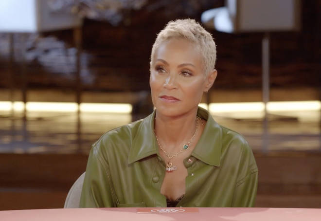 "Jada said the aftermath of the revelation was ""full blast of, like, flaws, and feeling and just the total breakdown of any mask."""