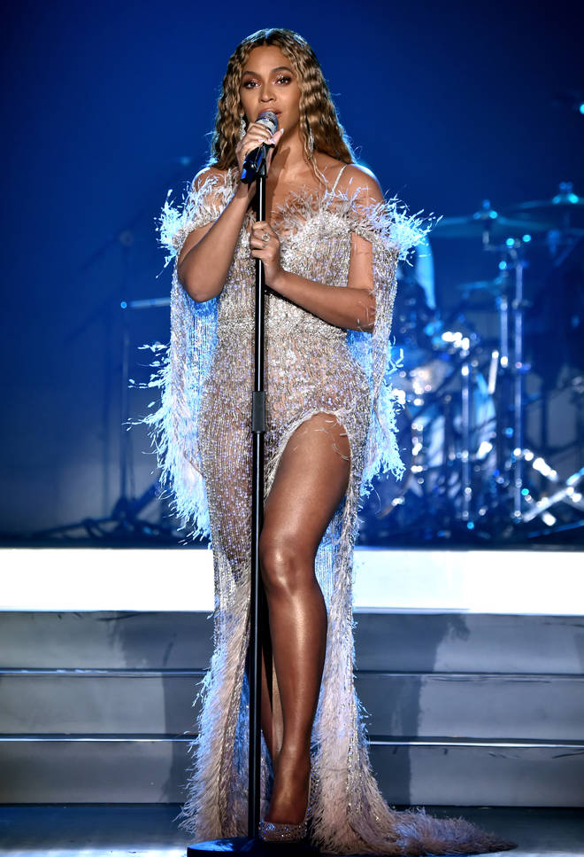 """Beyonce wrote, """"I can&squot;t wait to meet you one day and I&squot;m so happy you&squot;re home safely. You are a survivor. God bless, B."""""""