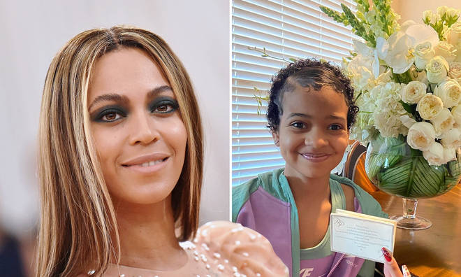 Beyoncé sends flowers with sweet message to fan with brain cancer.
