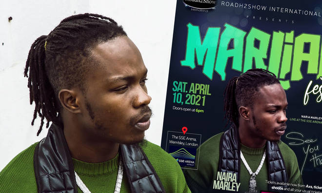 Naira Marley 'Marlian Fest' 2021 at Wembley Arena: Tickets, dates & more