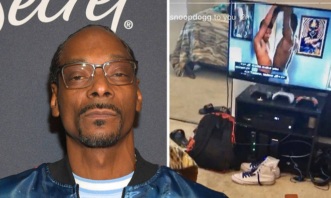 Snoop Dogg reacts to gay scene in 50 Cent's 'Power Book II: Ghost'.