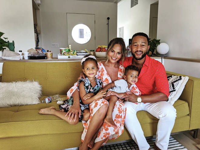 Chrissy and John share two children: Luna, 4, and Miles, 2.