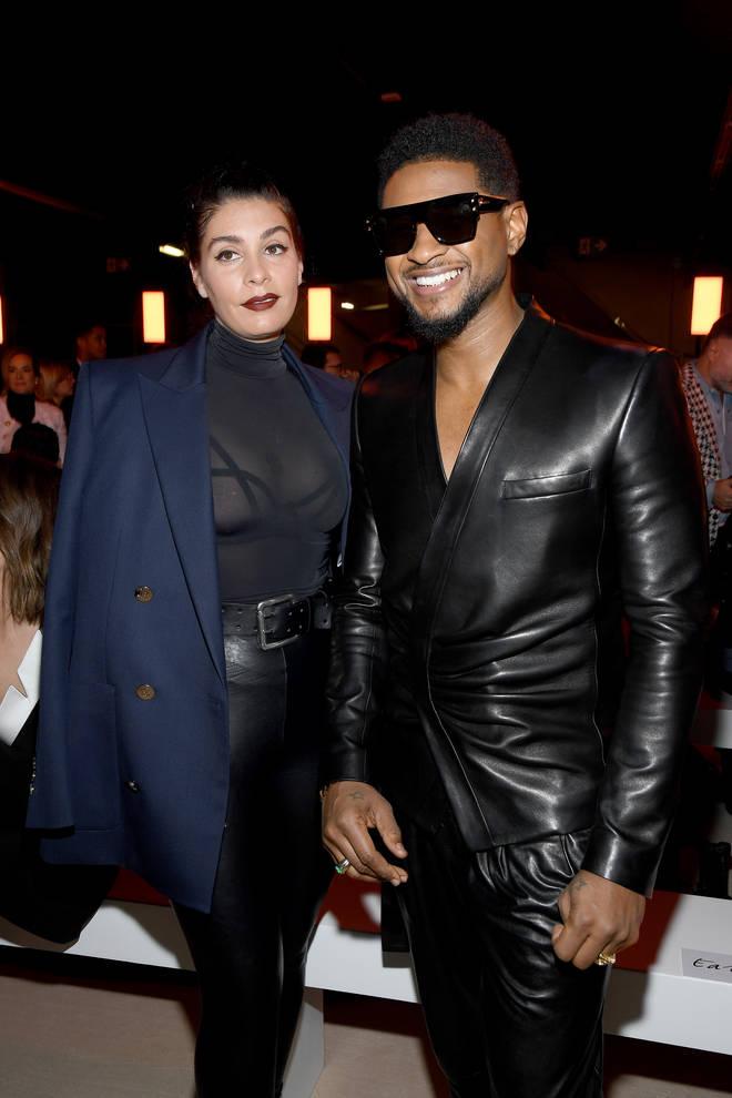 Usher has been dating girlfriend Jenn Goicoechea for around year.