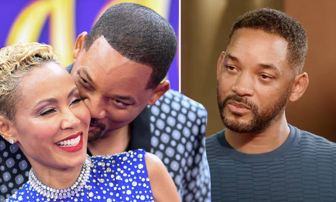 Will Smith and Jada Pinkett-Smith respond to 'entanglement' memes.