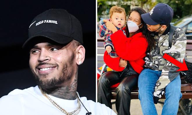 Chris Brown fan spots 'proof' that he's in London