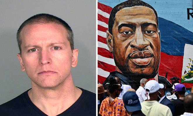 George Floyd murder suspect Derek Chauvin released from jail on $1 million bail.
