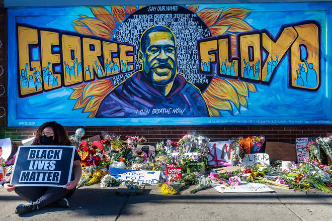 George Floyd's death resulted in worldwide protests against racial injustice and police brutality.