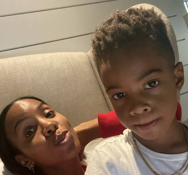 Kelly Rowland and Tim Weastherpoon share a five year-old son, Titan.