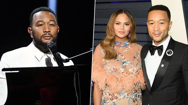 John Legend dedicates emotional 'Never Break' performance to Chrissy Teigen