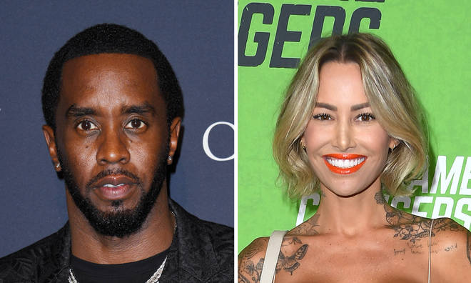 Diddy spotted kissing Brian Austin Green's ex-girlfriend Tina Louise