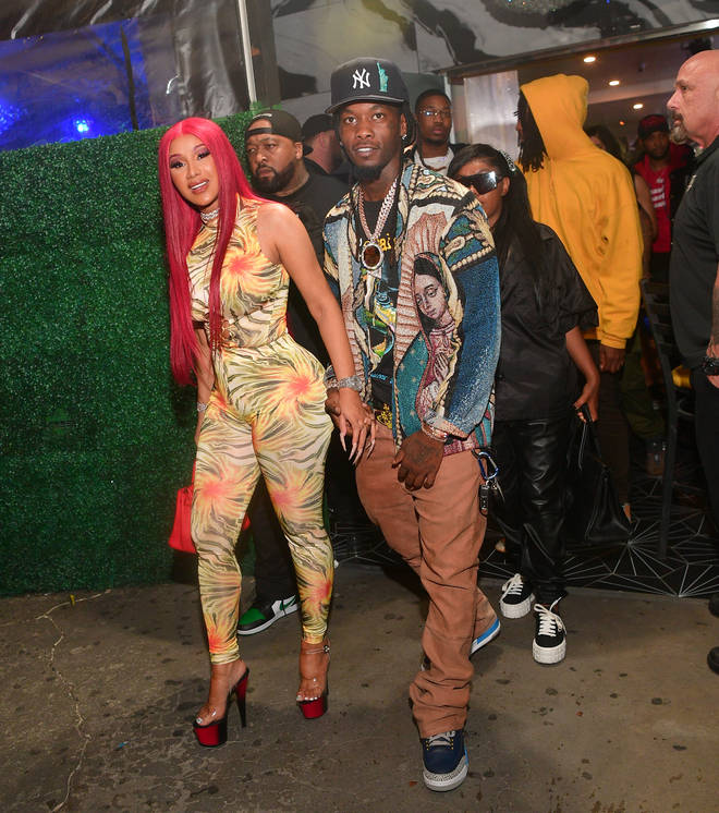 Cardi B confirmed she and Offset are back together.
