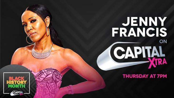 Listen again to Jenny Francis on Capital XTRA!