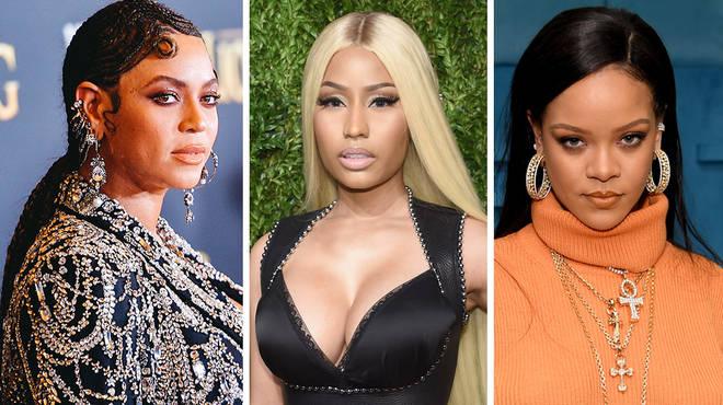 Beyoncé, Nicki Minaj & Rihanna speak out on #EndSARS protests in Nigeria