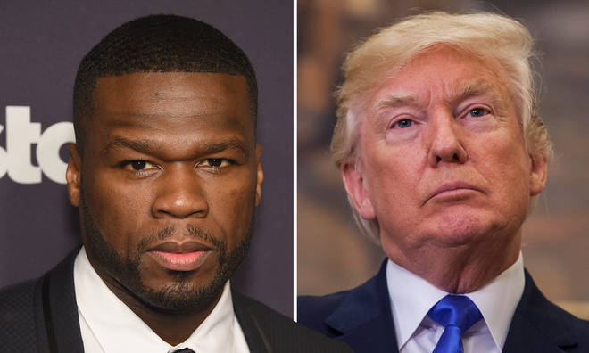 "50 Cent retracts Donald Trump support: ""I never liked him"""