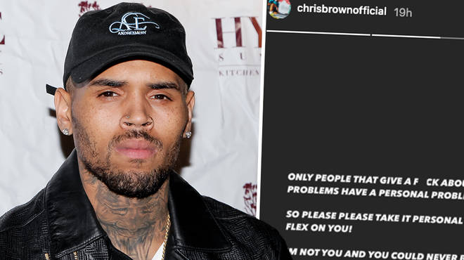 "Chris Brown slams critics in heated post: ""You could never be me"""