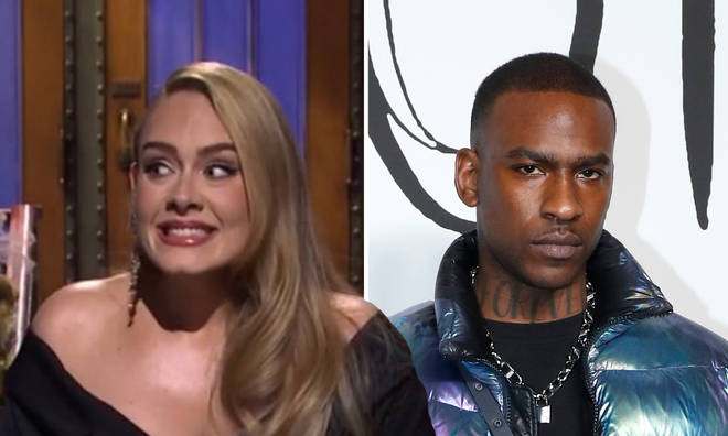 Adele responds to Skepta dating rumours.
