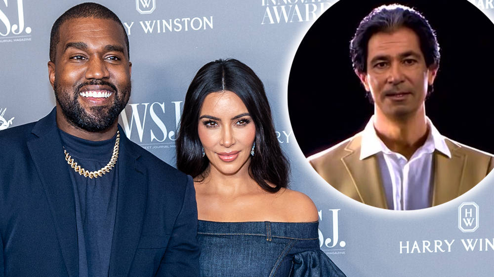 Kanye West gifts Kim Kardashian a 'lifelike' hologram of her late father
