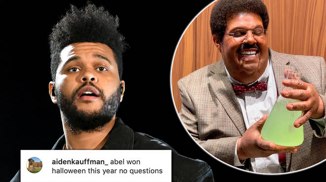 The Weeknd shocks fans with his Nutty Professor Halloween costume