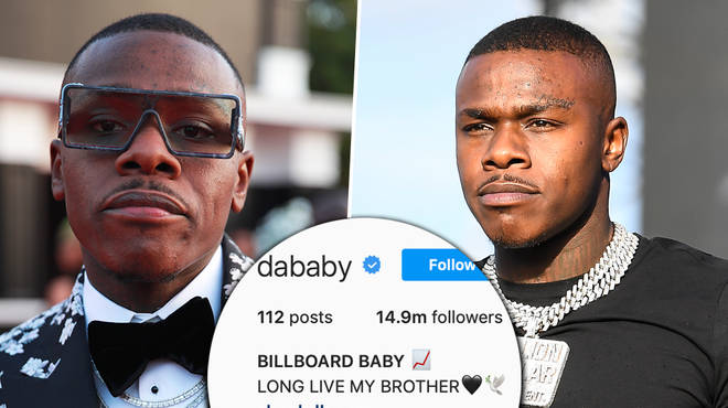 DaBaby pays emotional tribute to brother Glen Johnson after his tragic death