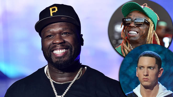 50 Cent roasts Lil Wayne & Eminem with hilarious election meme