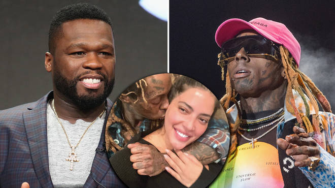 50 Cent reacts to Lil Wayne & Denise Bidot's alleged split