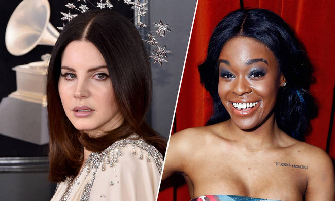 Lana Del Rey & Azealia Banks are feuding following Lana's comments on Kanye West's support of Donald Trump.