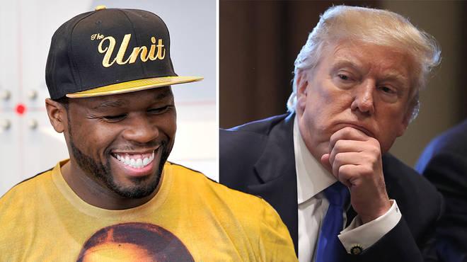 50 Cent trolls Donald Trump with savage prison meme