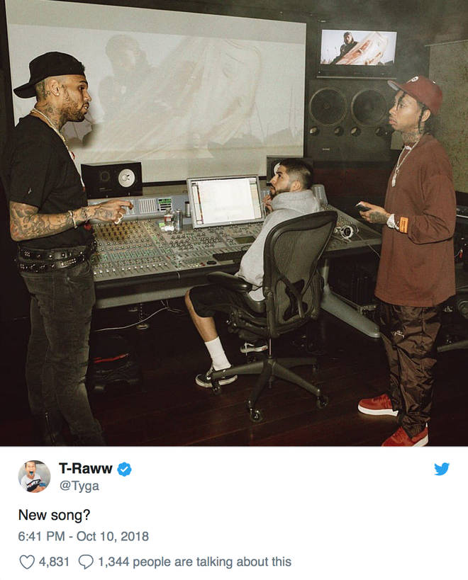 Chris Brown Tyga New Music 2018