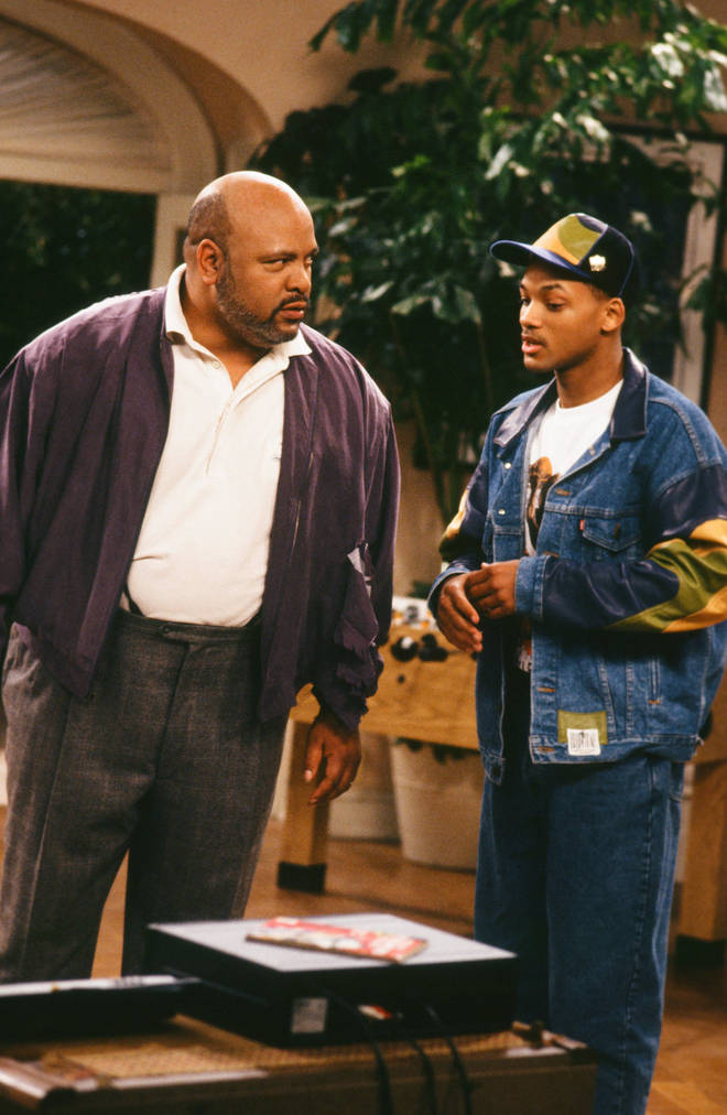 The Fresh Prince of Bel-Air. James Avery (L) plays Will Smith's (R) uncle