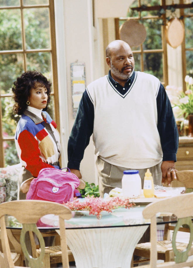 James Avery played Philip Banks on The Fresh Prince Of Bel-Air, pictures here with Daphne Reid as his on-screen wife Vivian Banks.
