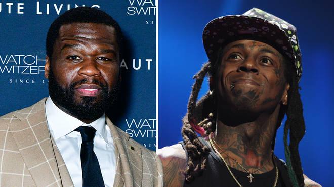 50 Cent trolls Lil Wayne over felony gun charge