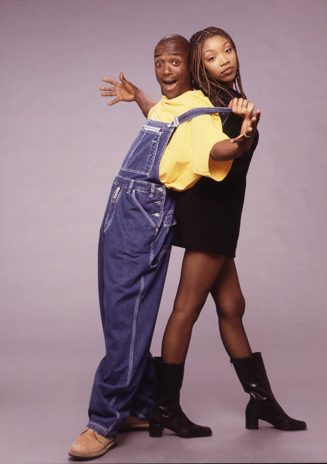 Brandy Norwood and Lamont Bentley starred in Moesha, which aired from 1996 to 2001.
