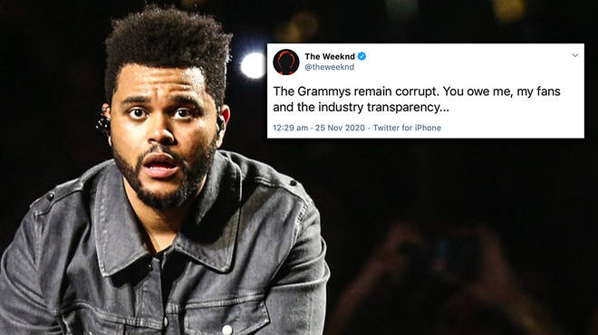 The Weeknd fans respond to his shock Grammys snub