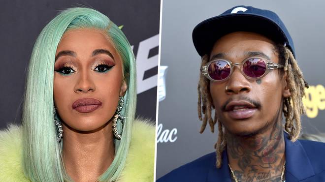 Cardi B claps back at Wiz Khalifa over 'shady' Grammy tweet