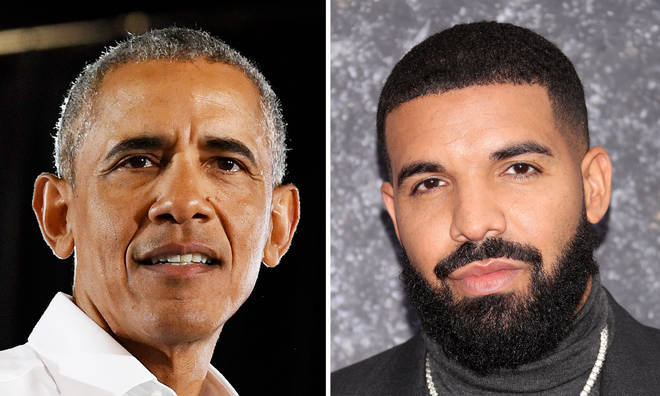 Barack Obama gives Drake 'stamp of approval' to play him in a film.