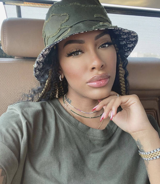 Aliyah Raey reveals she's having a baby with rapper Not3s