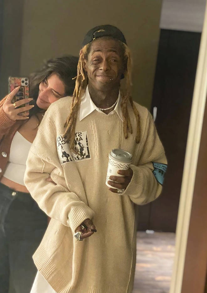 Denise Bidot shares a Thankgiving selfie with Lil Wayne