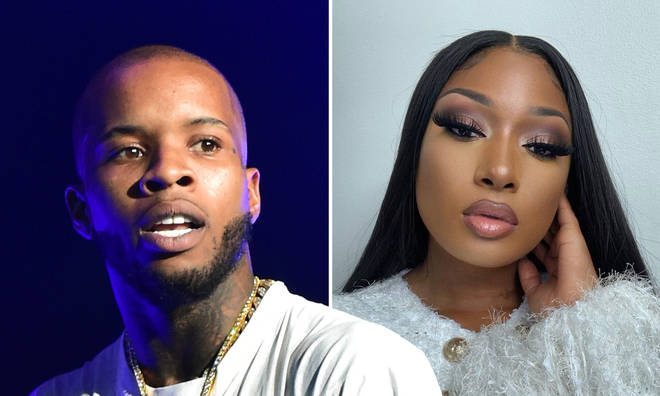 Tory Lanez smugly denies being 'cancelled' after shooting incident.
